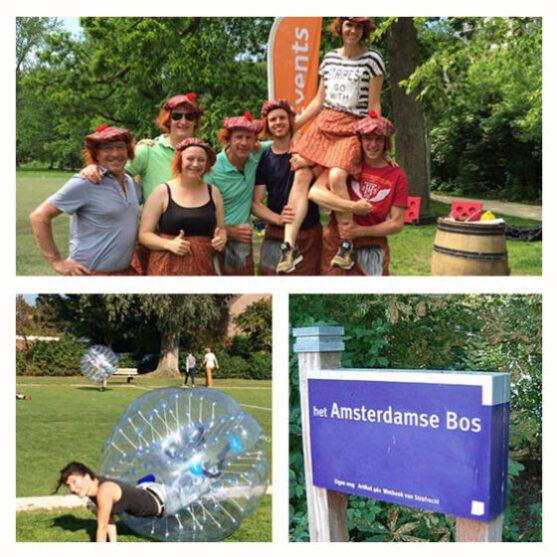 Teambuilding in het Amsterdamse bos? Dit zijn de leukste activiteiten!