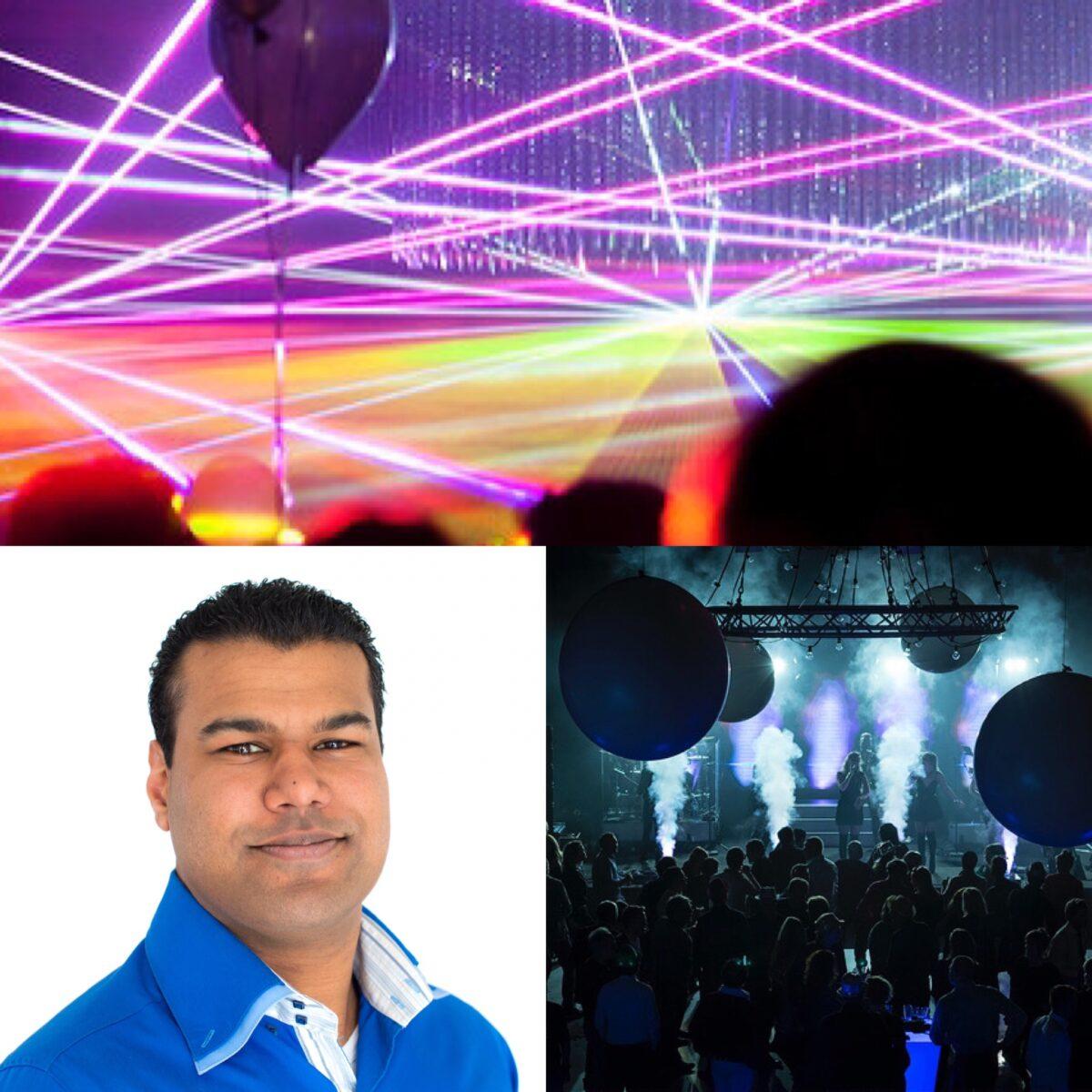 Licht op jouw event: tips van expert Raoul