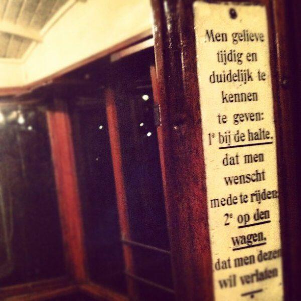 Avondprogramma | Running Tram Dinner