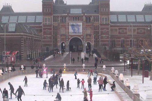 Schaatsen in Amsterdam 2019