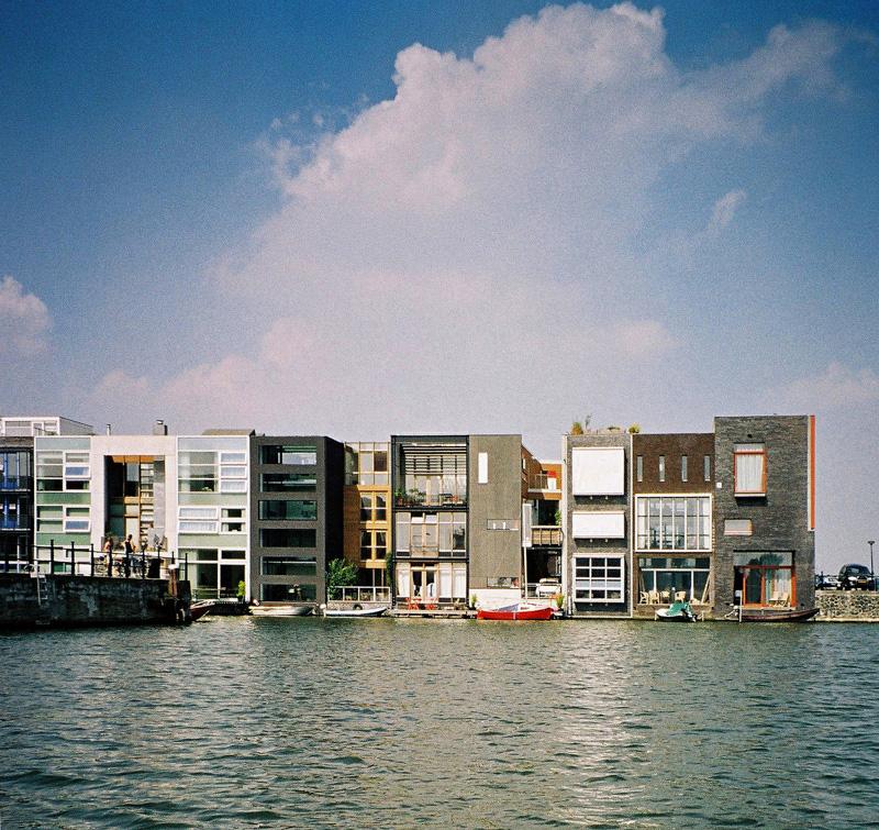 Architectuur wandeling Java/KNSM eiland