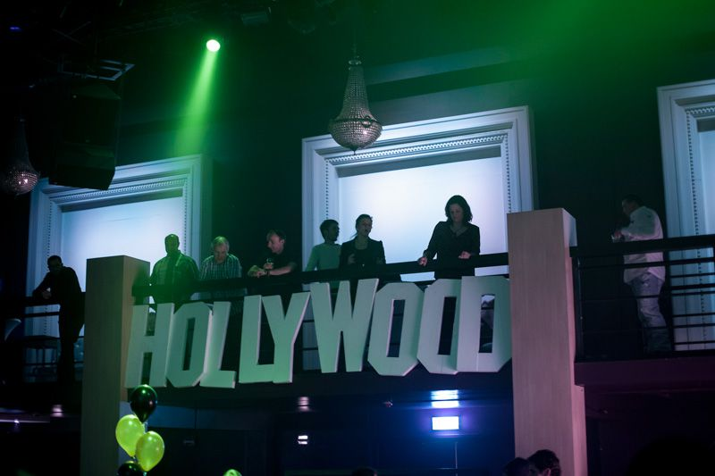 Hollywood feest