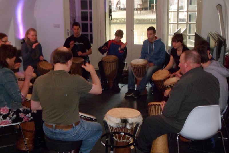 Percussie workshop